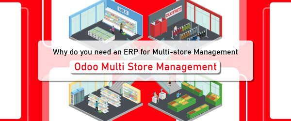 Why do you need an ERP for Multi-store Management | Benefits of Multi-Store Management Application | Multi Store Management in Odoo | Odoo Multi Store Management