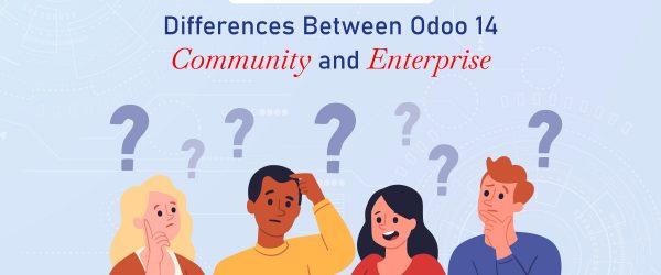 odoo 14 enterprise vs community, Odoo Community vs Odoo Enterprise, Odoo ERP Community vs Enterprise version, odoo 14 enterprise, Odoo 14 Features, odoo 14 community, Odoo Community vs Enterprise